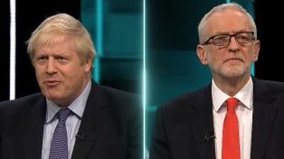 El Brexit dominó el primer debate entre Johnson y Corbyn