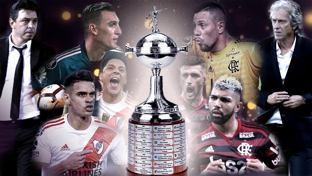 River defiende el título en Lima ante Flamengo, en una final única