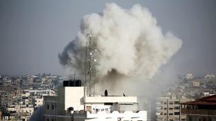 Bombardean objetivos de Hamas en respuesta a lanzamiento de cohetes