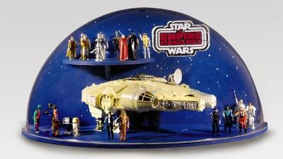 Salen a la venta en una subasta on line objetos de Star Wars