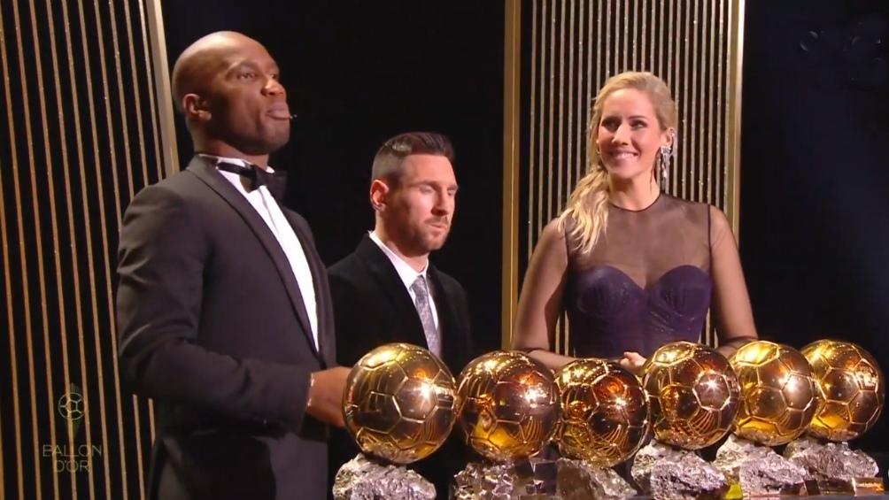 Messi y sus seis balones de oro