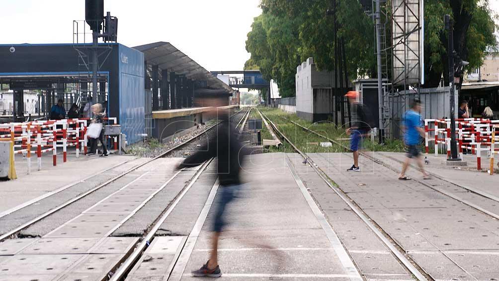 La línea Sarmiento funciona con demoras y cancelaciones