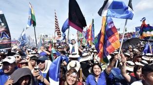 El MAS se pone en marcha para recuperar el poder