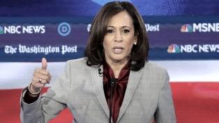 La senadora afroestadounidense demócrata Harris baja su candidatura presidencial en EEUU