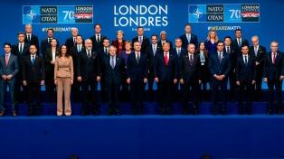 """Realzan la """"unidad"""" de la OTAN, pese al video que enojó a Trump"""