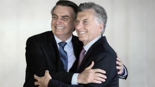 Macri se encontrará con Bolsonaro en su última gira presidencial
