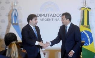 """Massa: """"La relación entre Argentina y Brasil es imprescindible, indestructible y permanente"""""""