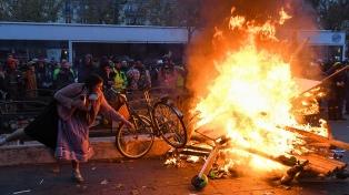 Segundo día de huelga contra las reformas previsionales de Macron