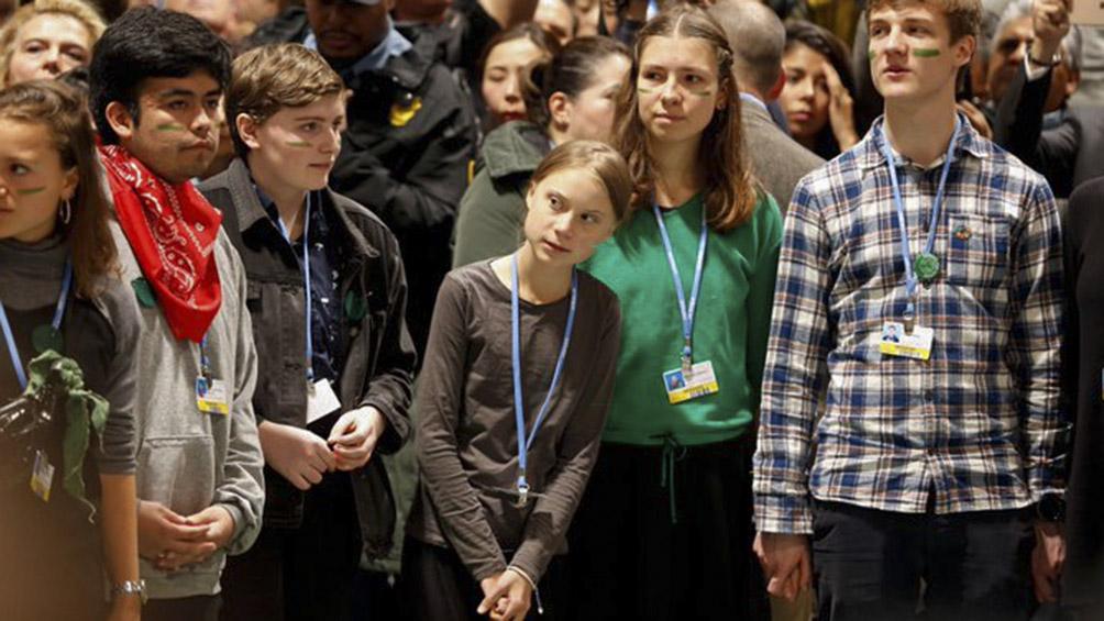 Greta Thunberg en la Cumbre del Clima: