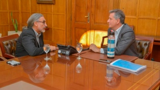 Etchevehere recibió a Luis Basterra, futuro ministro de Agricultura
