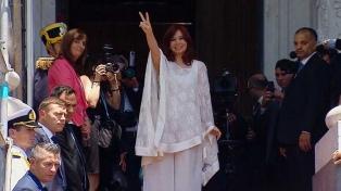 "Cristina Kirchner abogó por ""construir una patria con oportunidades para todos"""