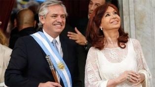Alberto Fernández saludó a Cristina por su cumpleaños con una foto