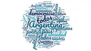 ¿Cuáles fueron las palabras más usadas por Alberto Fernández en su primer discurso?
