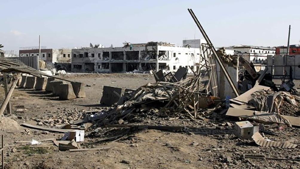 Un muerto y 60 heridos en un ataque cerca de la base estadounidense