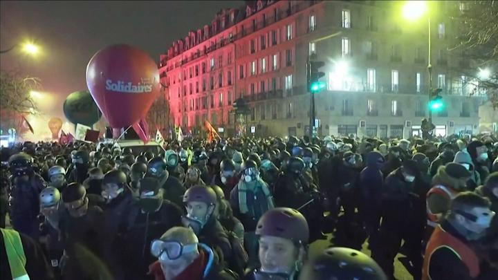 Los sindicatos convocan una nueva manifestación en enero