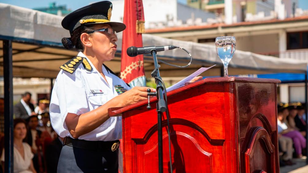 Asumió una mujer como jefa de la Policía por primera vez en 194 años