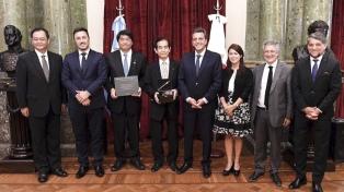 Massa recibió a una delegación de diputados de Japón para profundizar lazos entre ambos países