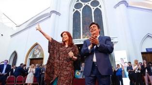 """Cristina Kirchner denunció una """"gran desigualdad"""" entre la Capital y el resto del país"""