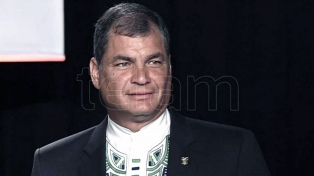 Suspendieron el juicio a Correa en una causa por presuntos delitos de corrupción