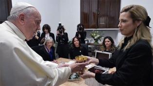 El Papa inauguró una nueva sede de Scholas junto a Fabiola Yañez