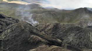 Controlan un incendio en el cordón serrano entre Coronel Suárez y Saavedra