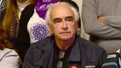 Peidro, de la CTAA, se pronunció contra el hambre y la miseria y dijo descreer de ciertas propuestas