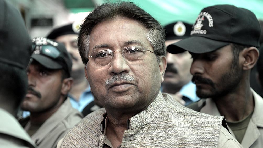 El ex dictador Musharraf fue condenado a muerte por traición