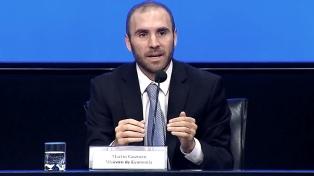 """Guzmán, sobre la reunión con la directora del FMI: """"Mantuvimos un encuentro muy constructivo"""""""
