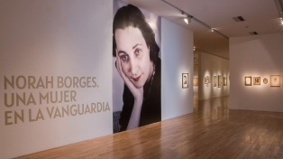 Continúa hasta el 1 de marzo la muestra sobre Norah Borges