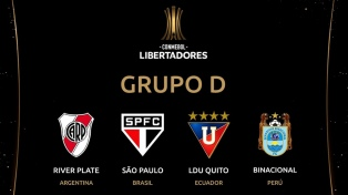 River  jugará con San Pablo, Liga de Quito y Binacional
