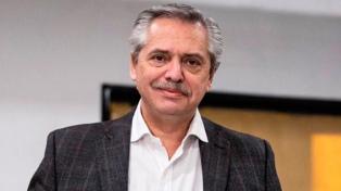 """Alberto Fernández: """"Voy a brindar para que los que están mal dejen de estarlo"""""""
