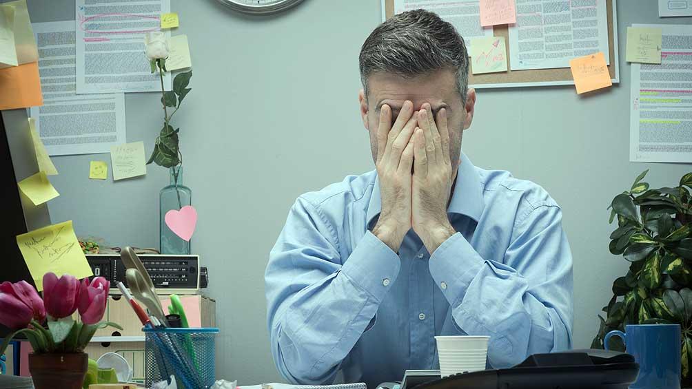 En diciembre, suben 30 % las consultas por estrés