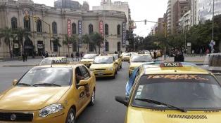 Navidad sin taxis por reclamo salarial de choferes