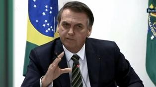 Bolsonaro dijo que podría recibir al canciller Solá mañana en Brasilia