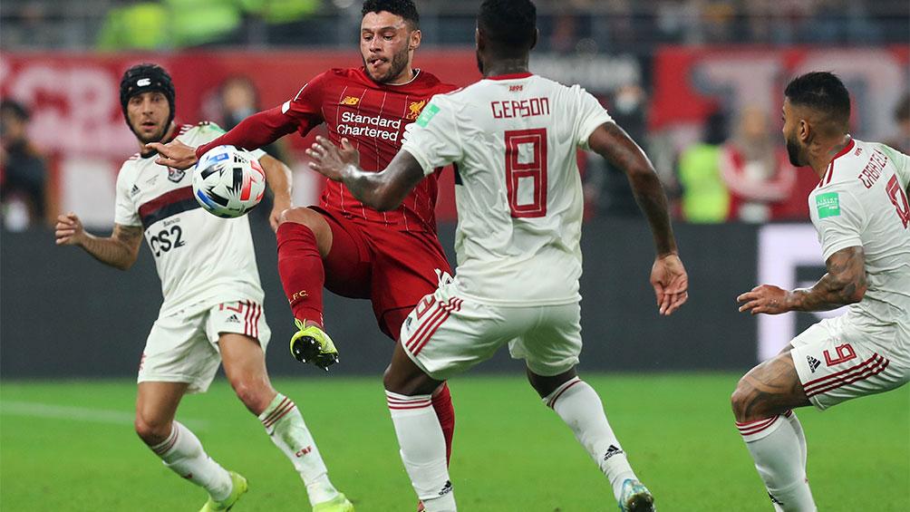 Flamengo y Liverpool definen al campeón en suplementario