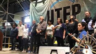 Con un acto, se presentó un sindicato de trabajadores de la economía popular