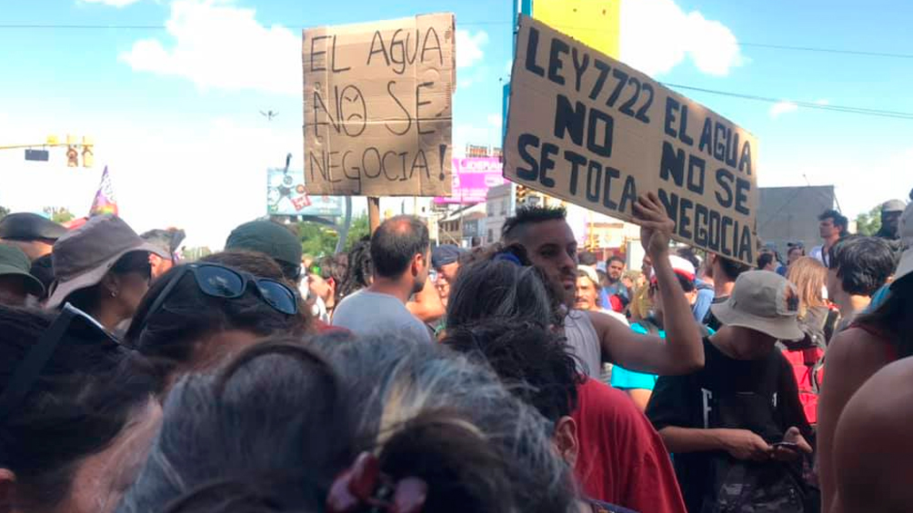 El gobierno de Mendoza suspendió la aplicación de la ley minera