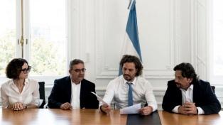 Cafiero firmó un acuerdo con Salta y Catamarca para potenciar el desarrollo regional