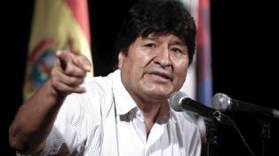 Morales denunció que quieren proscribir su candidatura a diputado