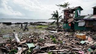 Llega a 47 el número de muertos por el tifón Phanfone en Filipinas
