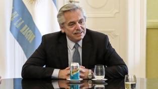 """Alberto Fernández, sobre la renegociación de la deuda: """"Está un poco más claro el horizonte"""""""