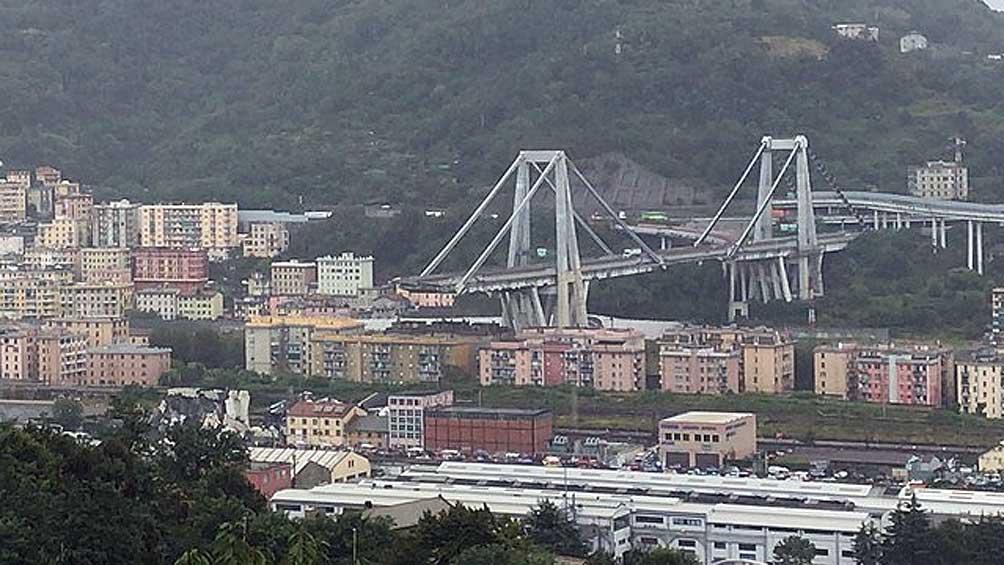 El gobierno quiere revocarle concesiones a Benetton por el derrumbe del puente Morandi