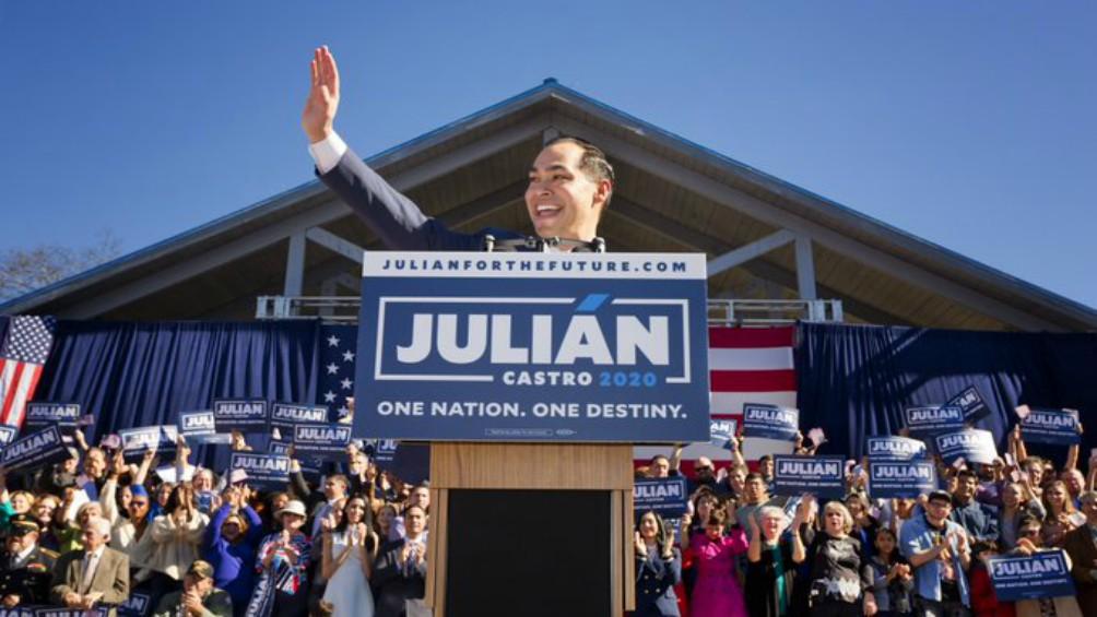 Julián Castro, único precandidato demócrata latino, se baja de la carrera presidencial
