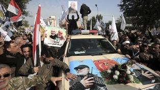 Hamas urge a vengar el asesinato de Soleimani durante su funeral en Teherán