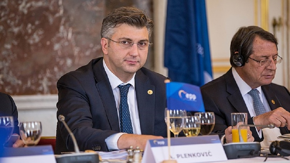 Andrej Plenkovic (HDZ), primer ministro croata