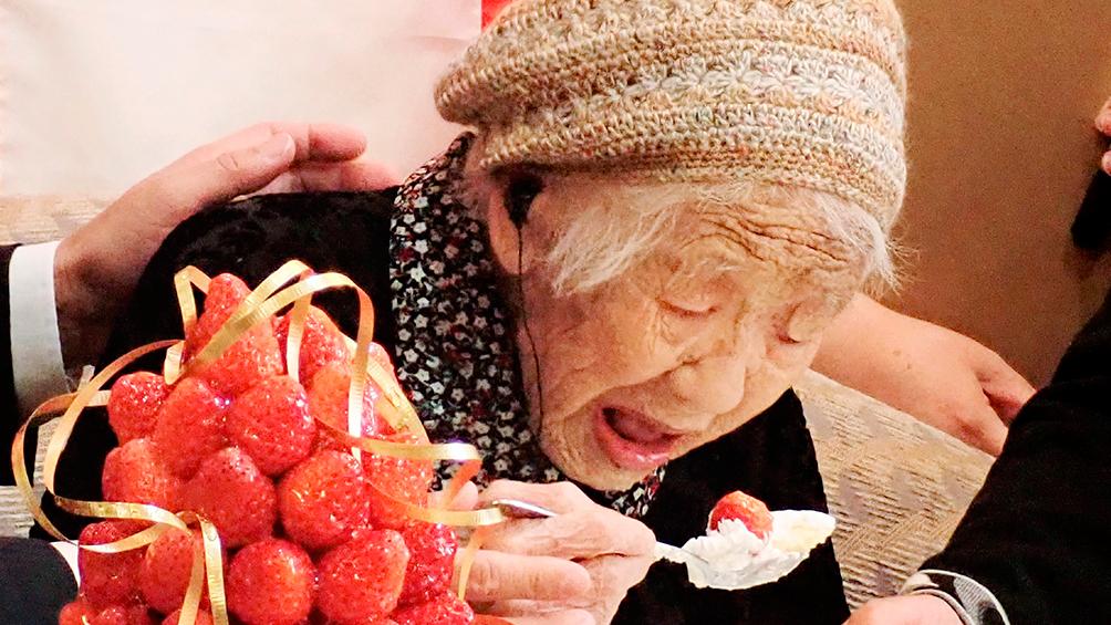 La mujer más longeva del mundo, Kane Tanaka, cumplió 117 años