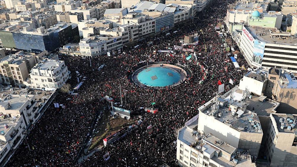 Miles salen a las calles para condenar el asesinato del comandante iraní Soleimani