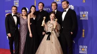 """""""Había una vez en Hollywood"""", la película más premiada en la 77 edición de los Globos de Oro"""