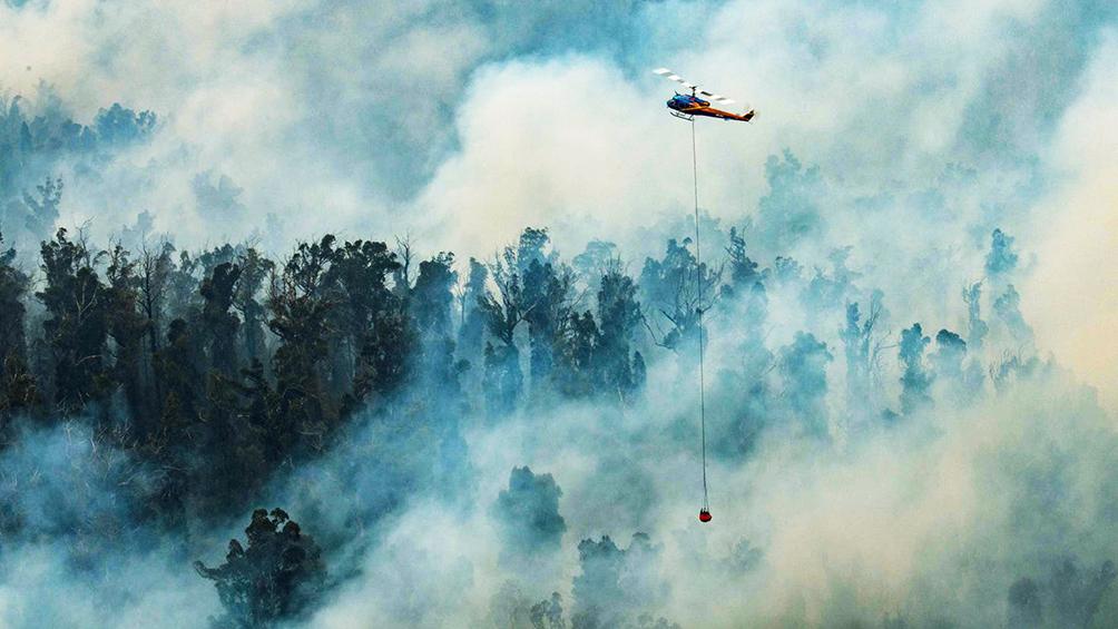 Llueve, pero por los incendios la calidad del aire en Canberra es la peor del mundo