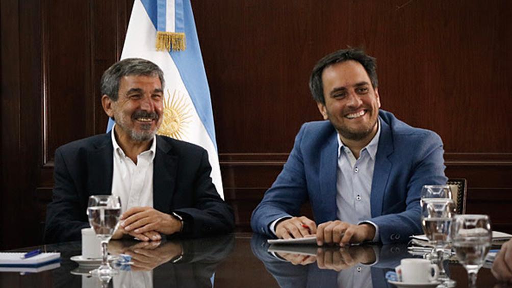 Cabandié y Salvarezza acordaron monitorear ambiente con aval de entidades científicas